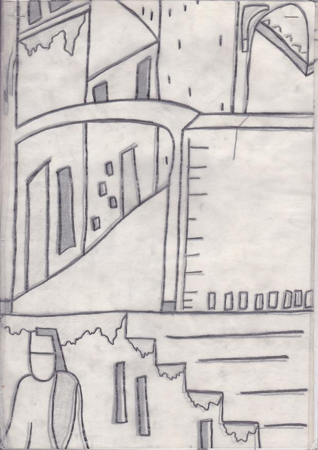 Design of View Through An Arch