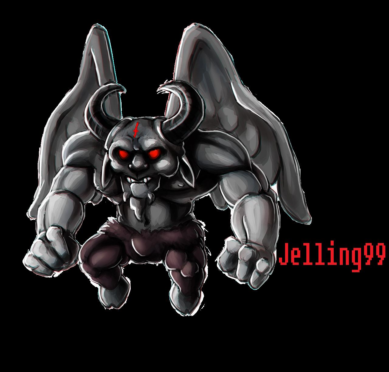 BoI Satan Custom