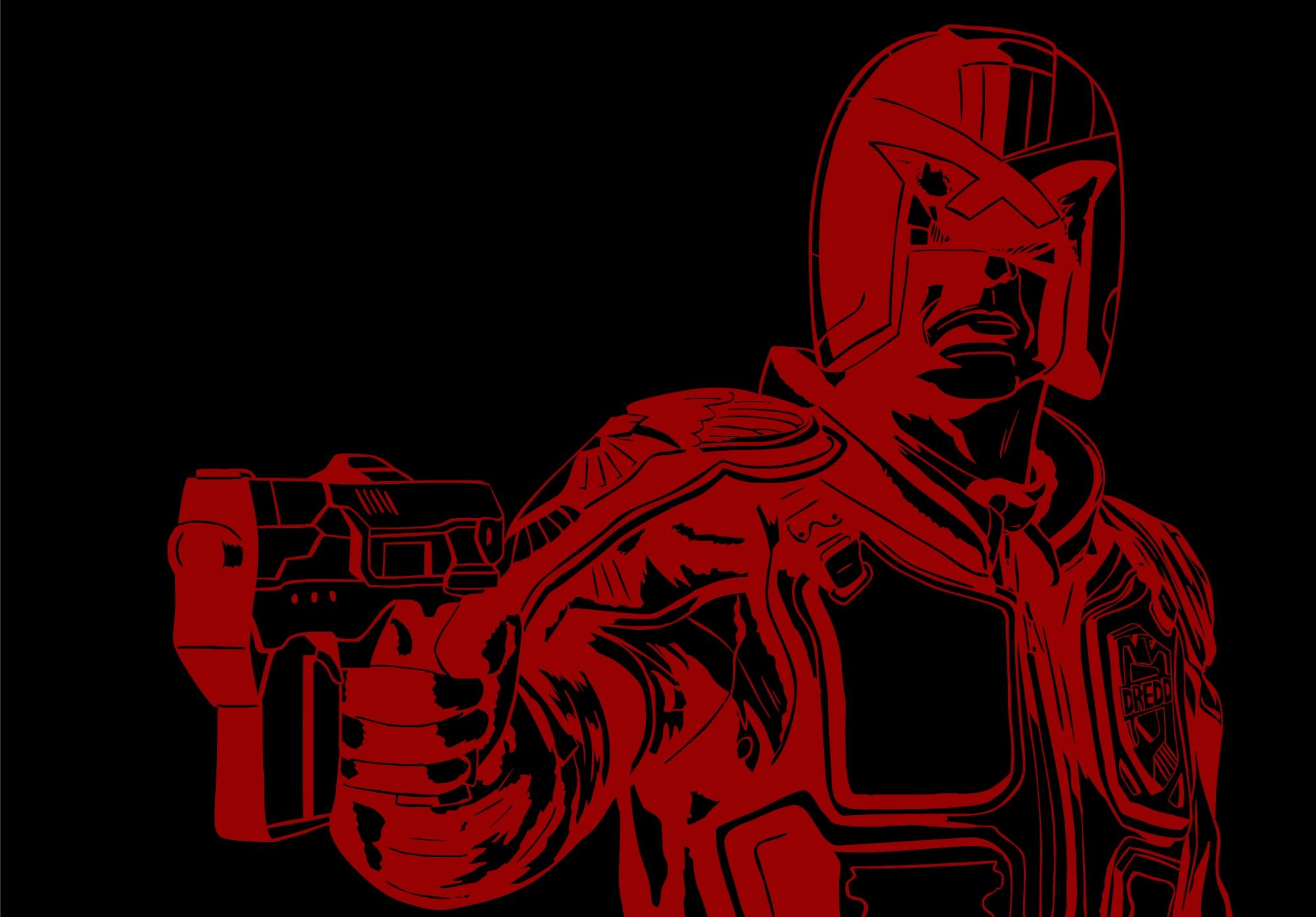 DREDD RED