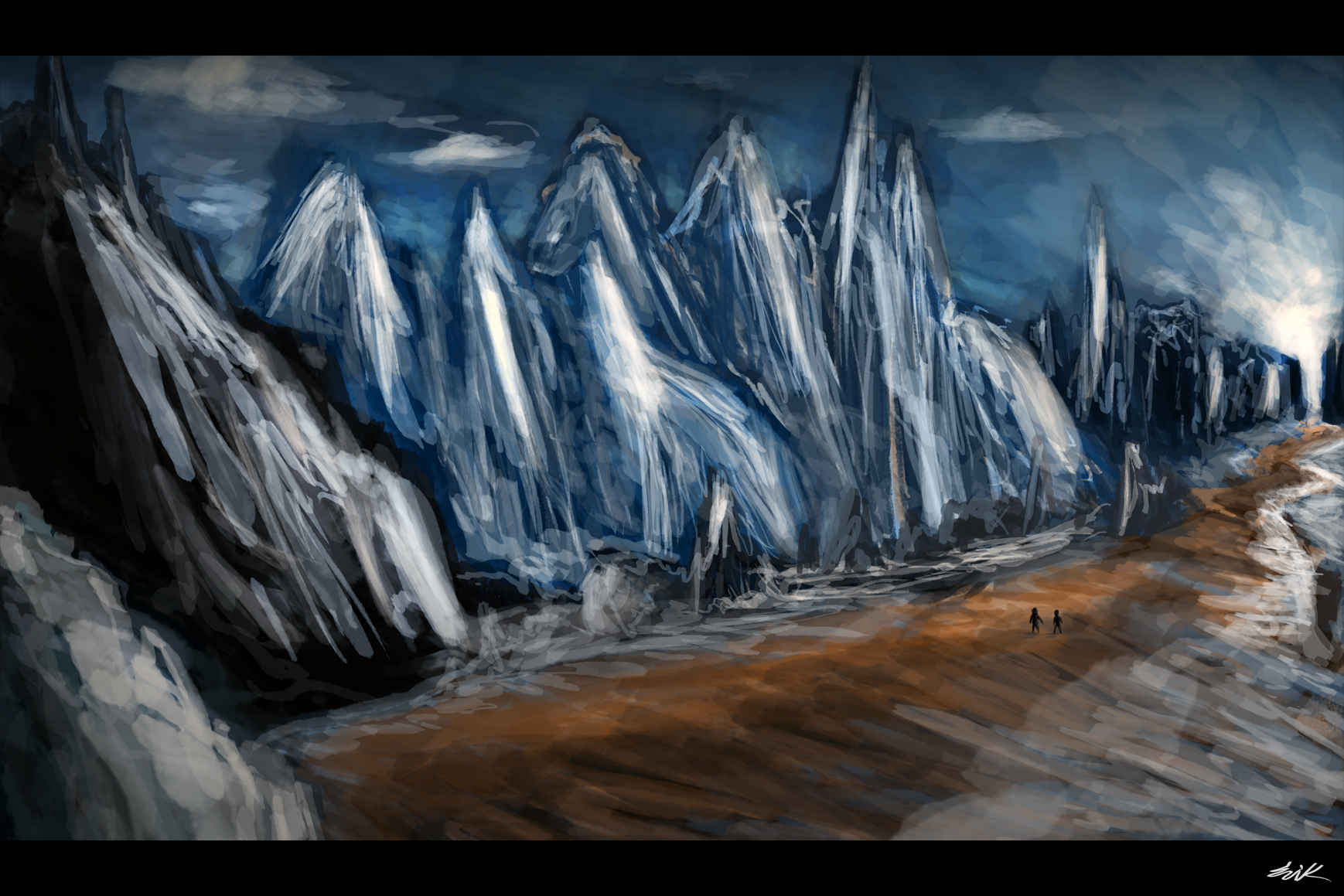 Artic Mountain Concept