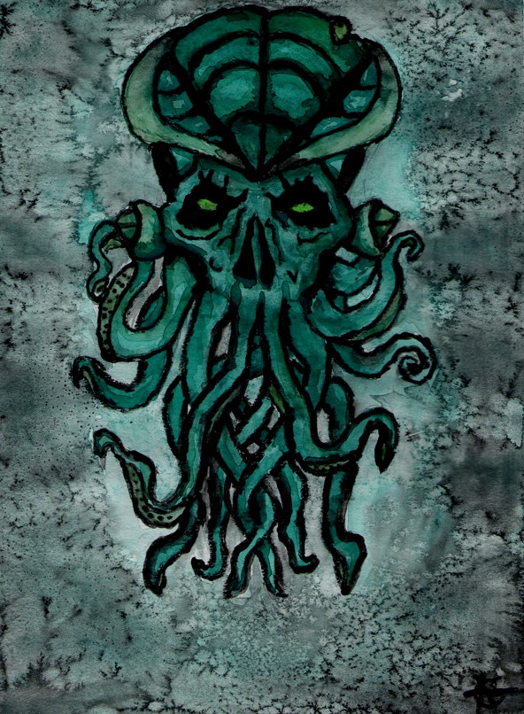 Cthulhu Water Color