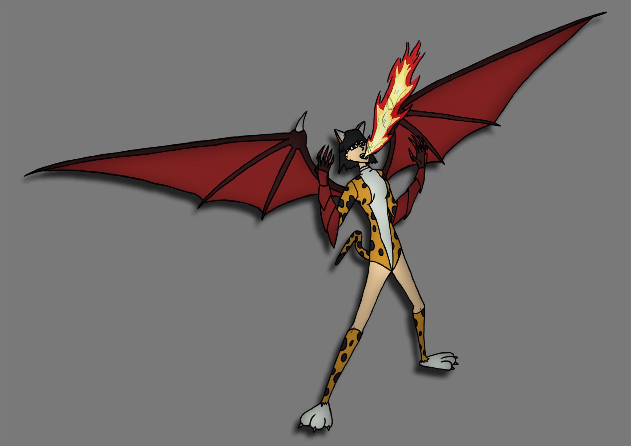 Cat Dragon Lady