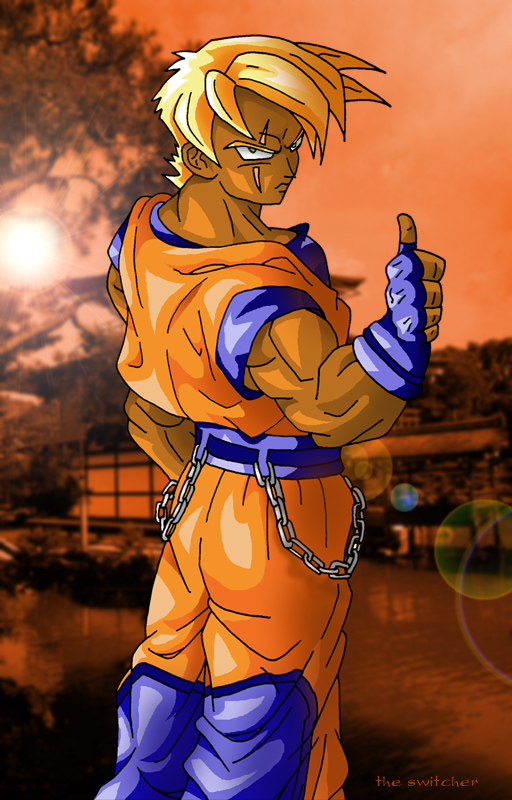 Da Black Goku