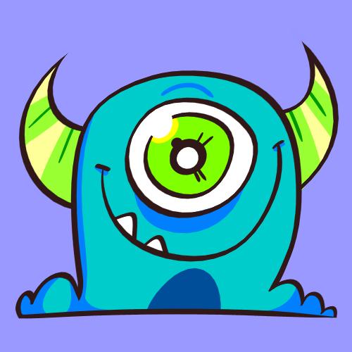 I'm a cute monsterrr