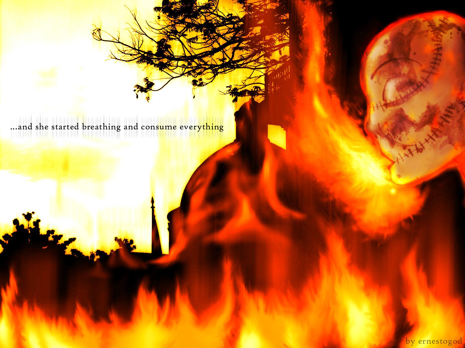 Burning Life...