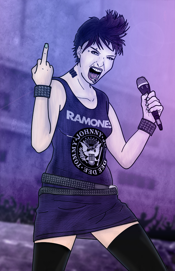 Punk-Rock Chick