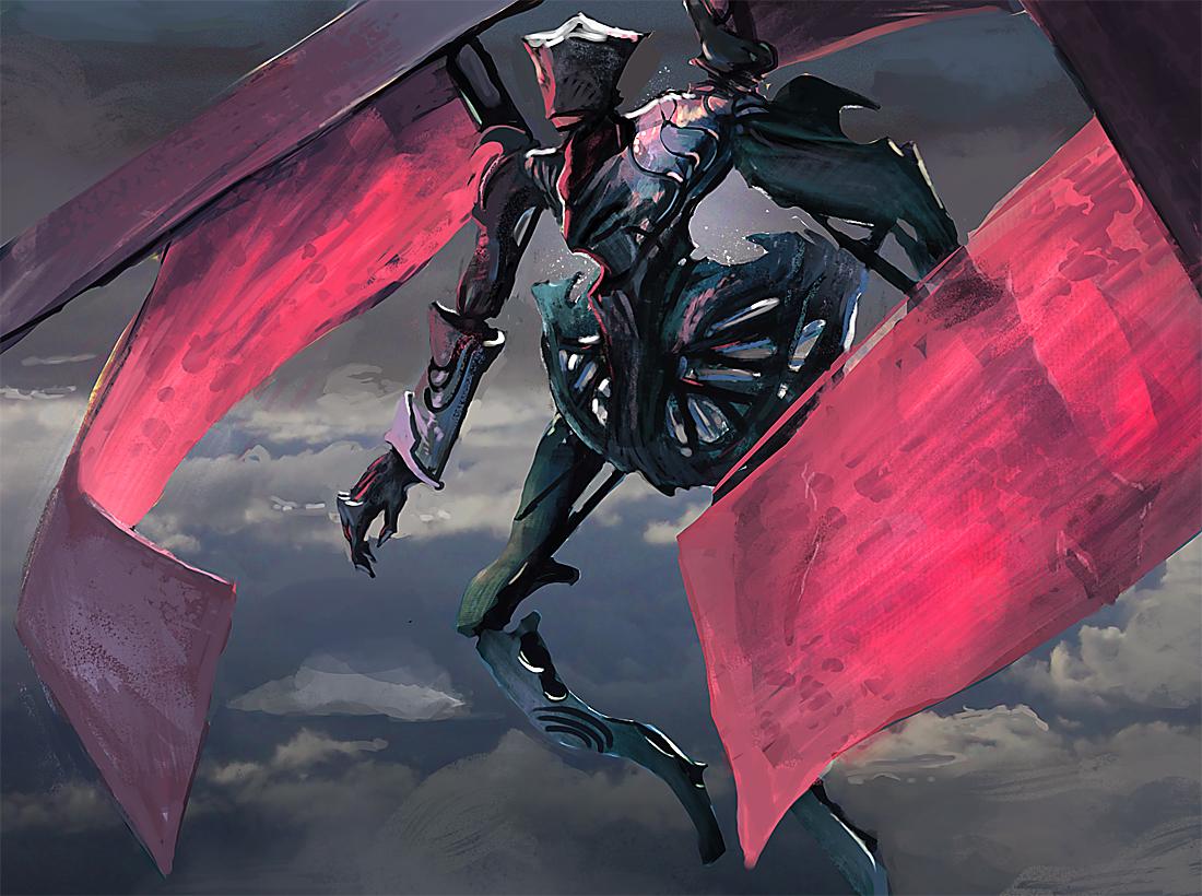 Winged Golem