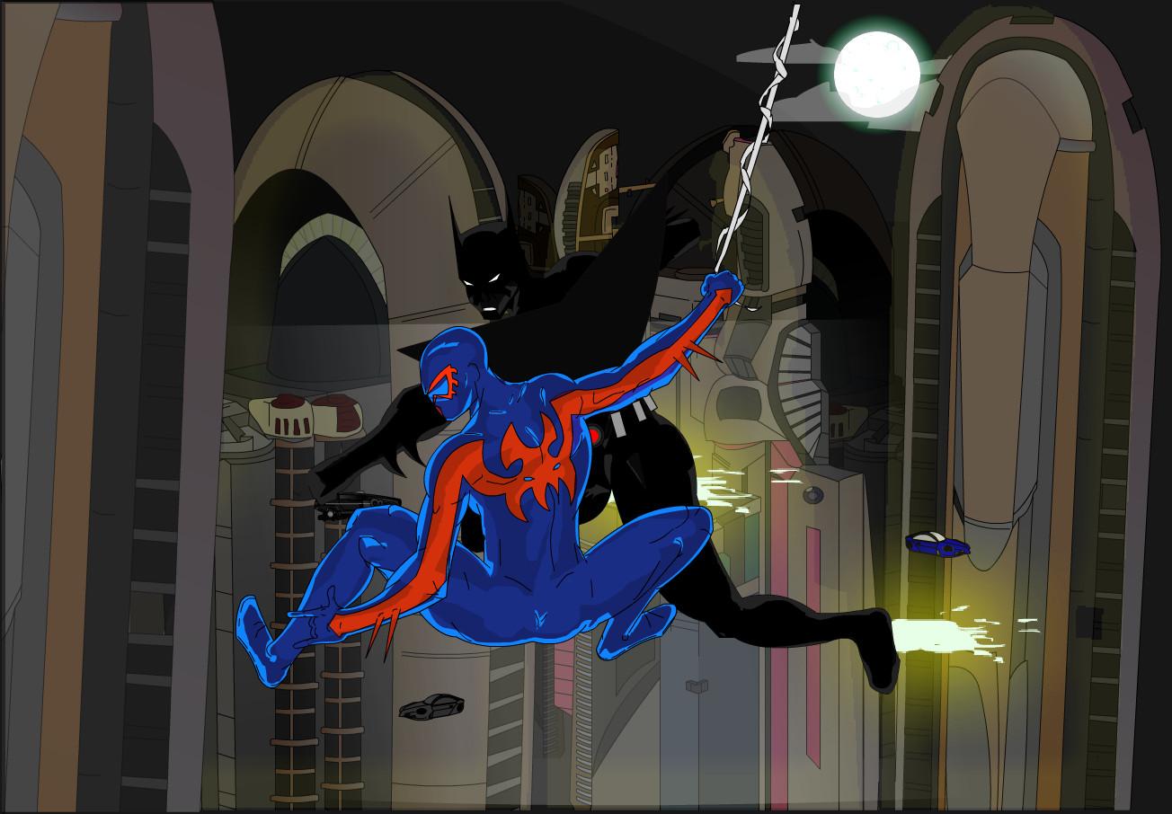 Batman Beyond vs SpiderMan2099