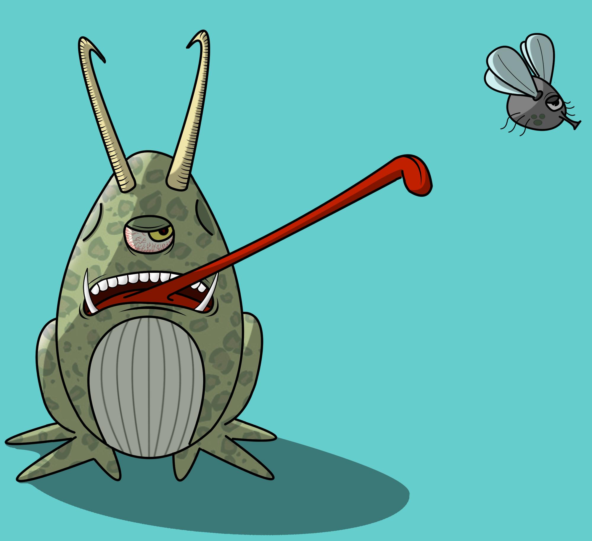 Jurassic frogger