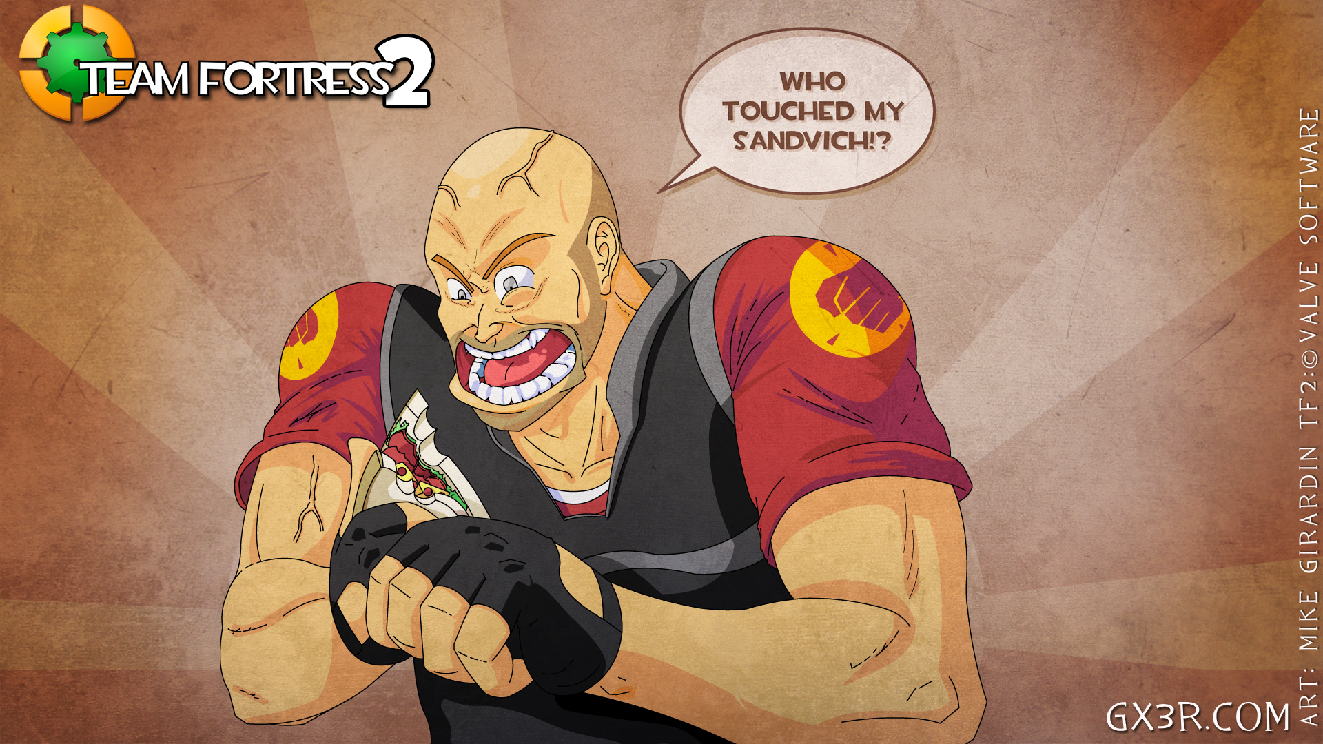 TF2 Who touched Sandvich?