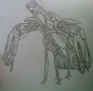 random construction robot
