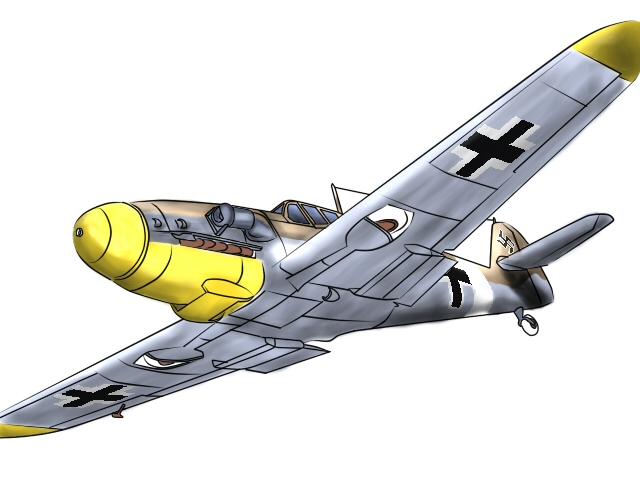 Me-109 F4