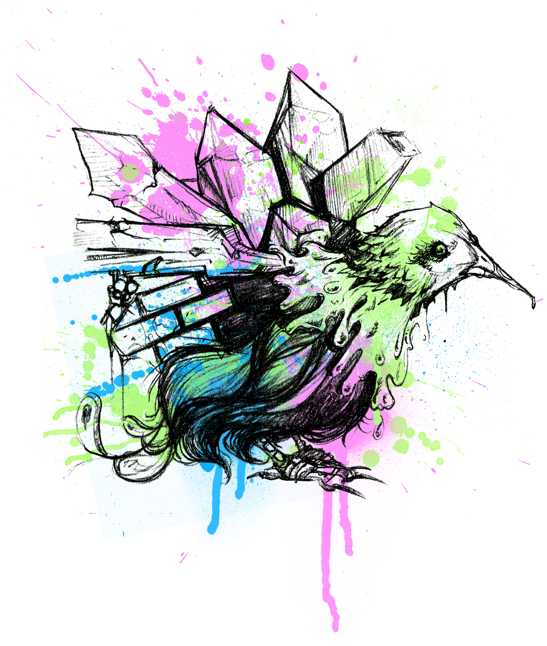 texture bird
