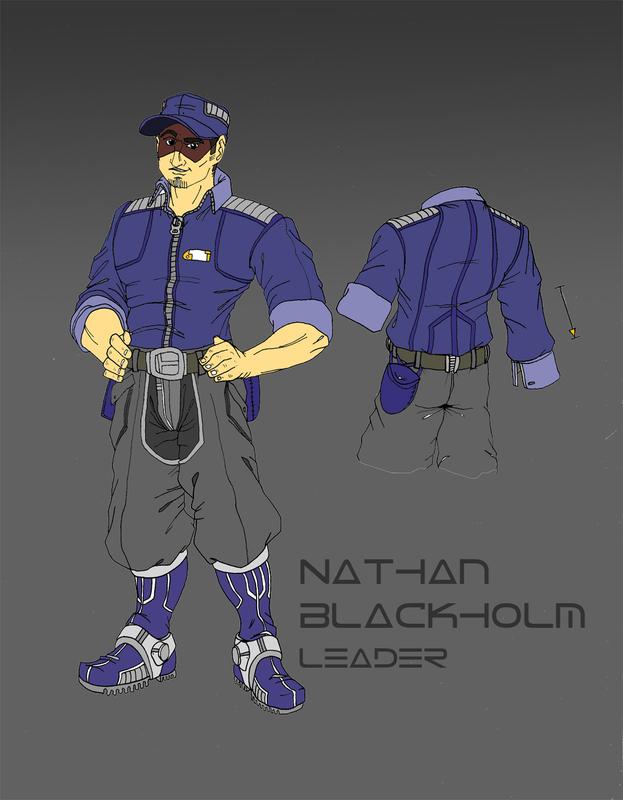 Captain Nathan Blackholm