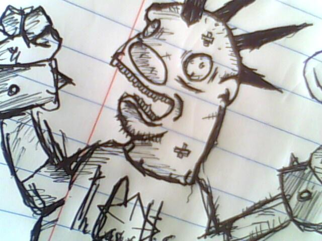 Punk Rock Pig