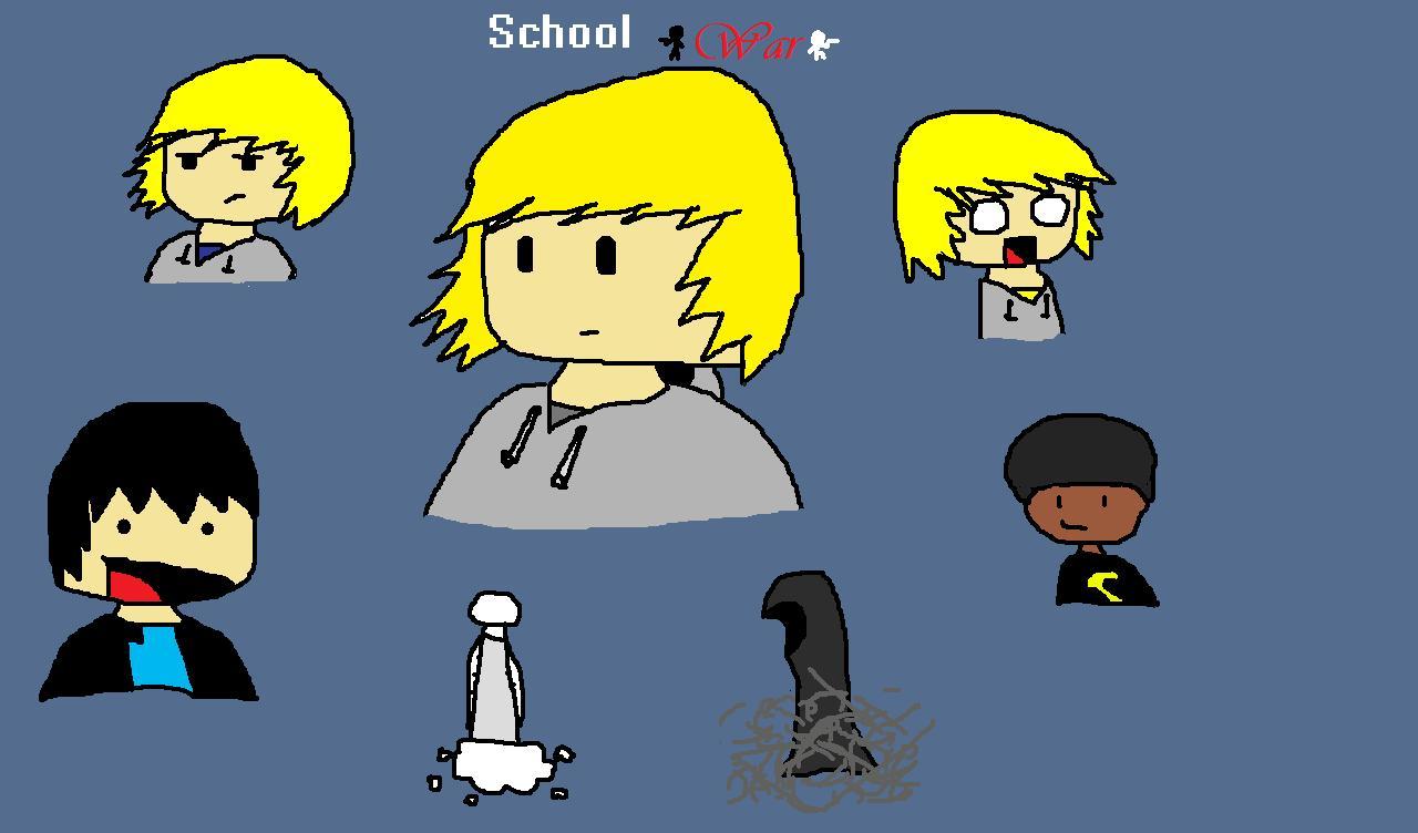 School War Doodle