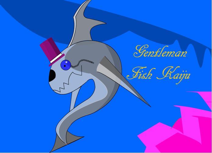 Gentleman Fish Kaiju