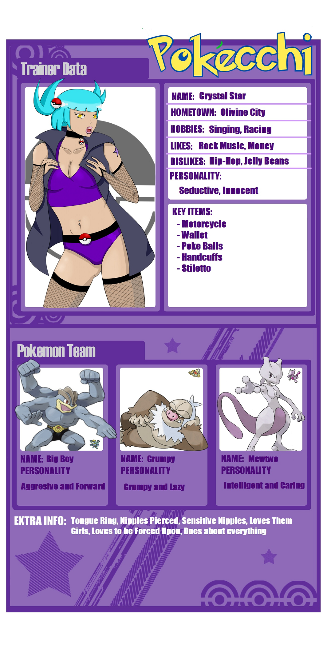 My Pokeecchi Trainer