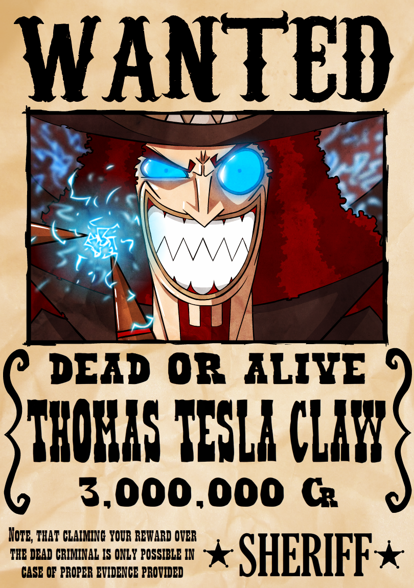 WANTED: THOMAS
