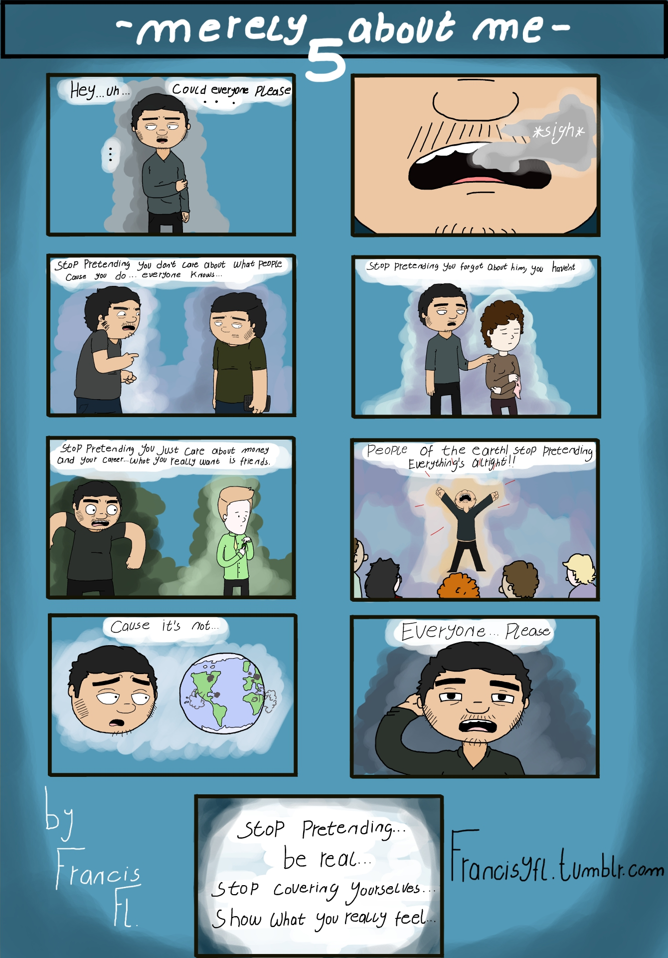 [Comic] Merely about me 5