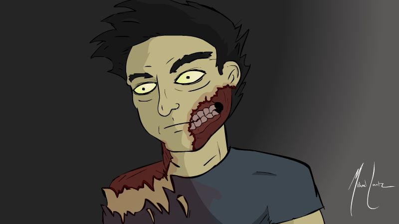 Not-so-gory Zombie