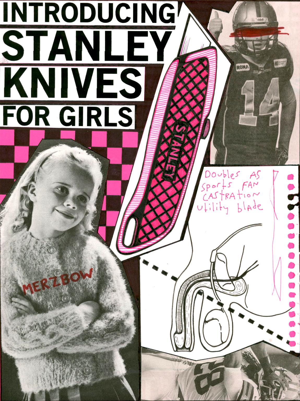 stanley knives for girls