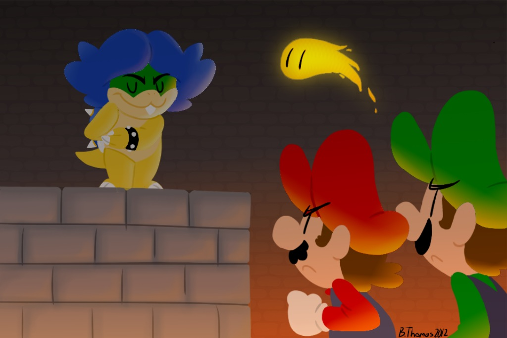 Welcome, Mario Brothers