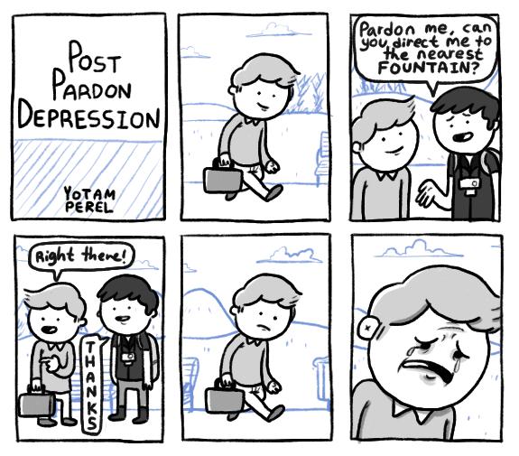 Post Pardon Depression