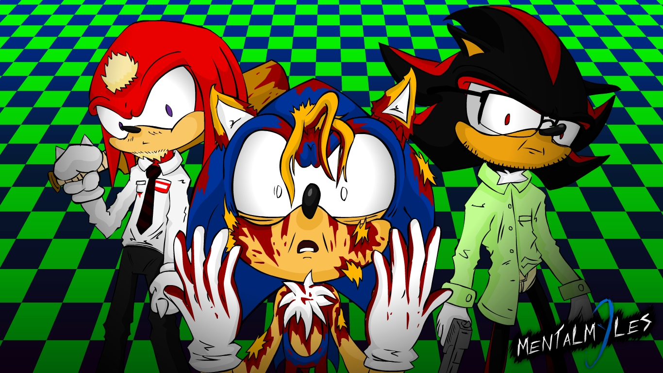 Sonic's Halloween Costume DX