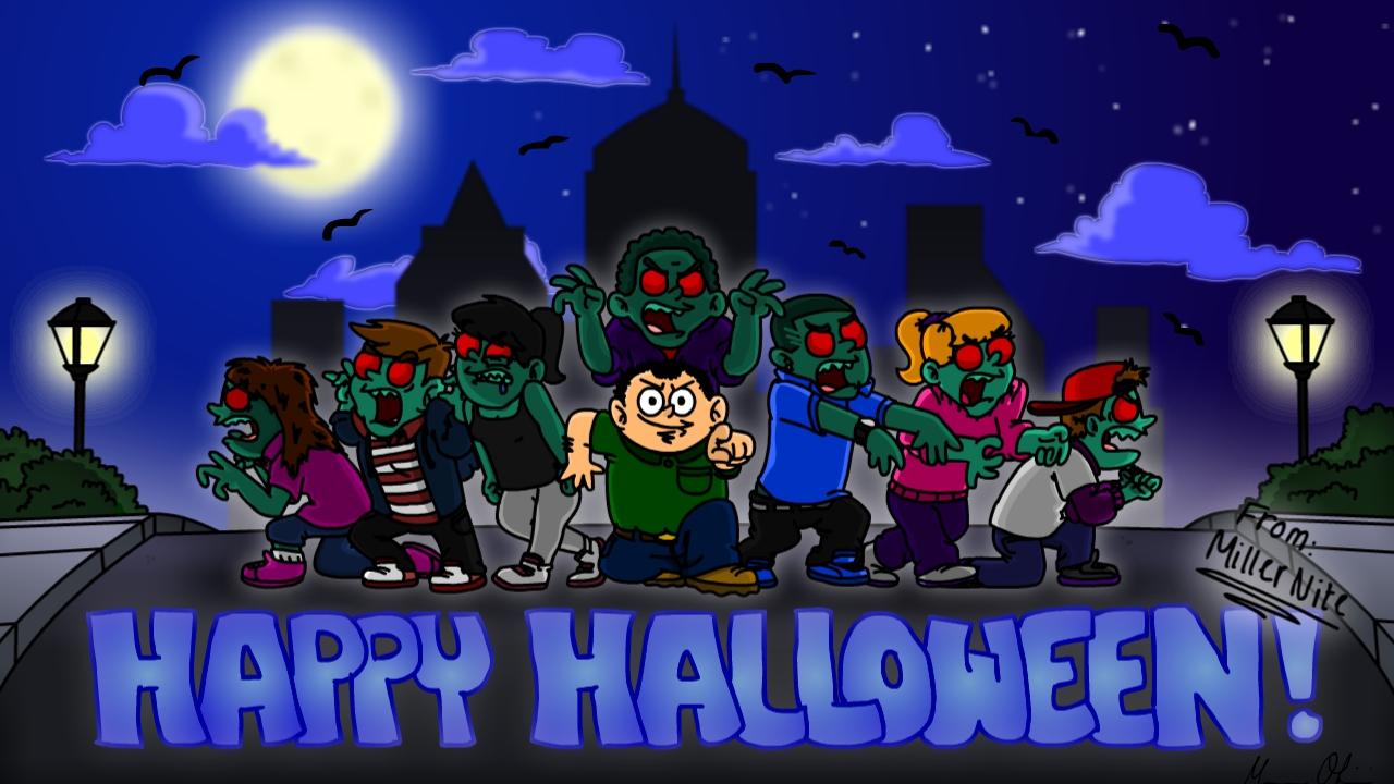 Happy Halloween! (Miller Nite)