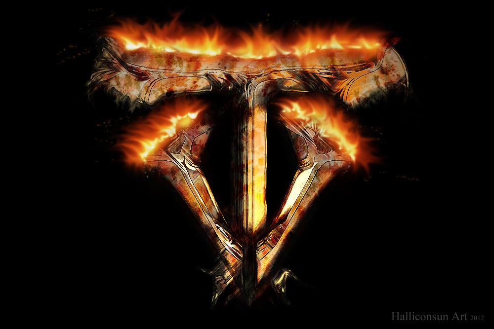 vapourTrail Logo Fire
