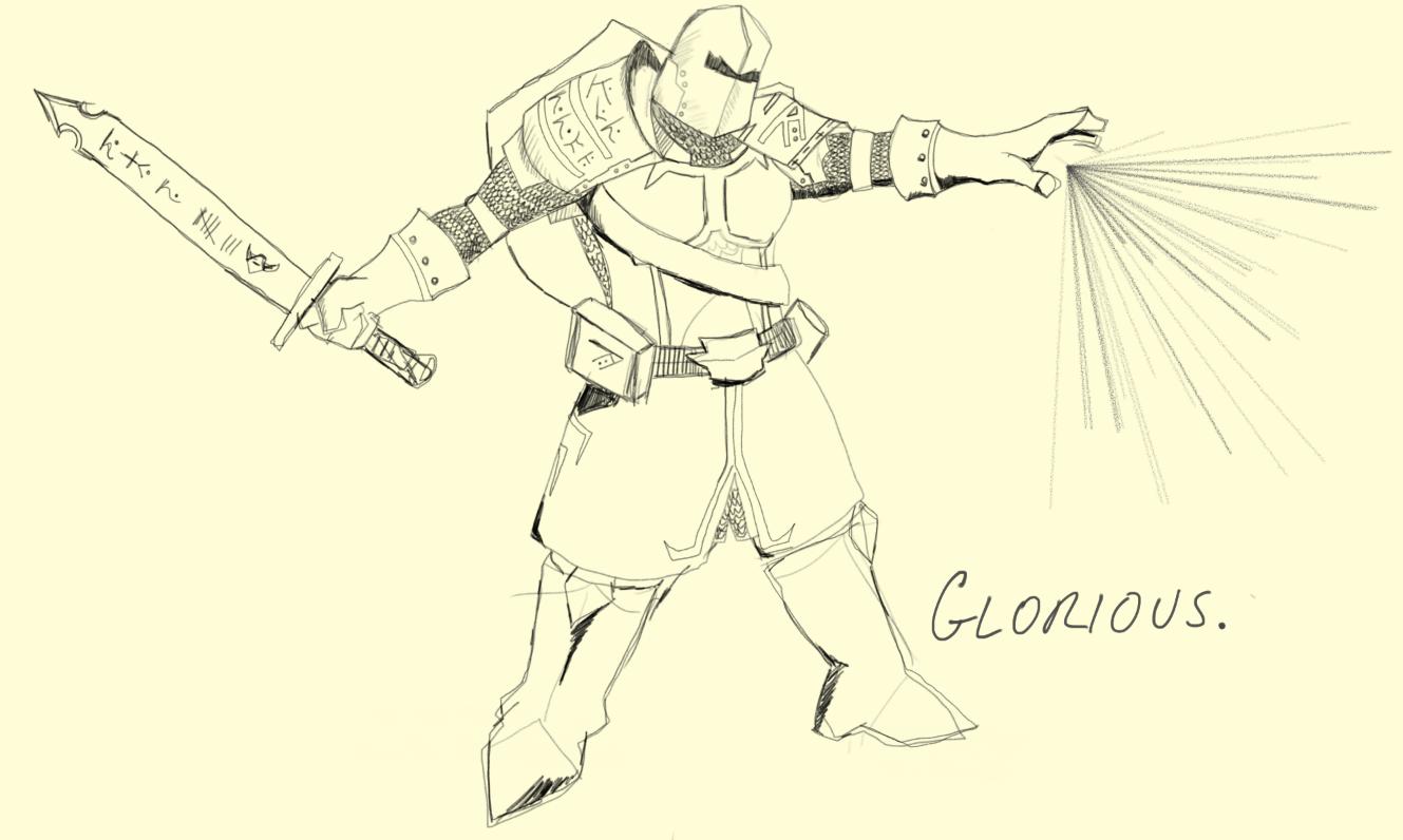 Kormac the Templar: GLORIOUS!