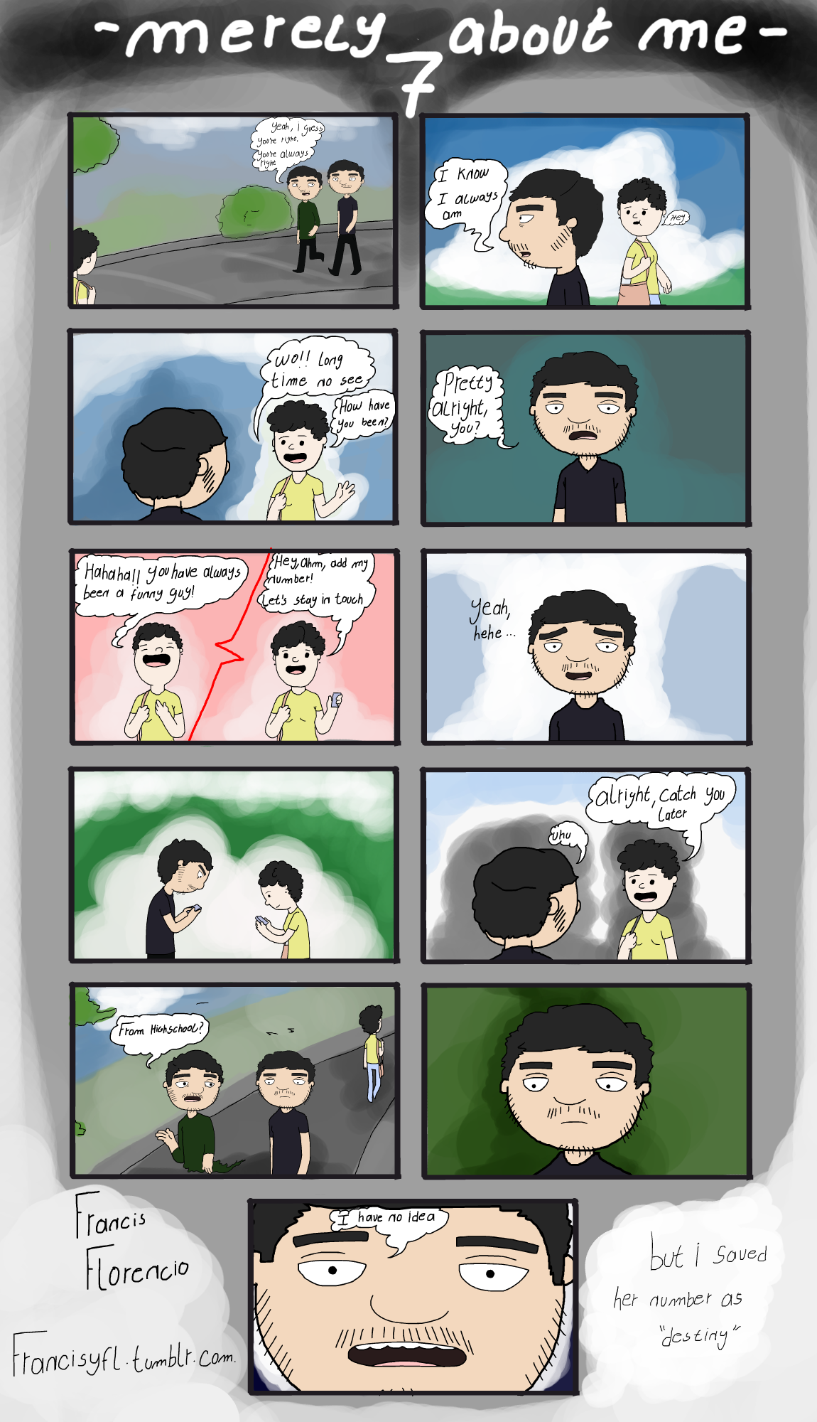 [Comic] Merely about me - 7