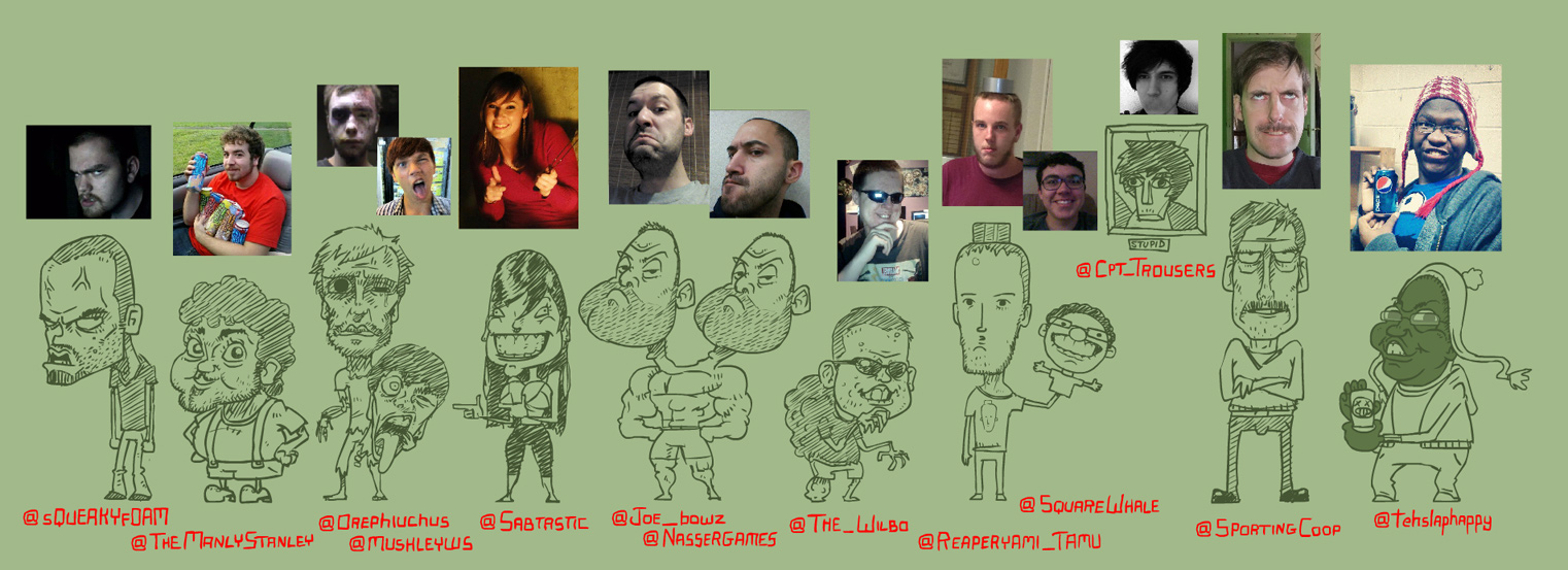 Twitter Faces #1