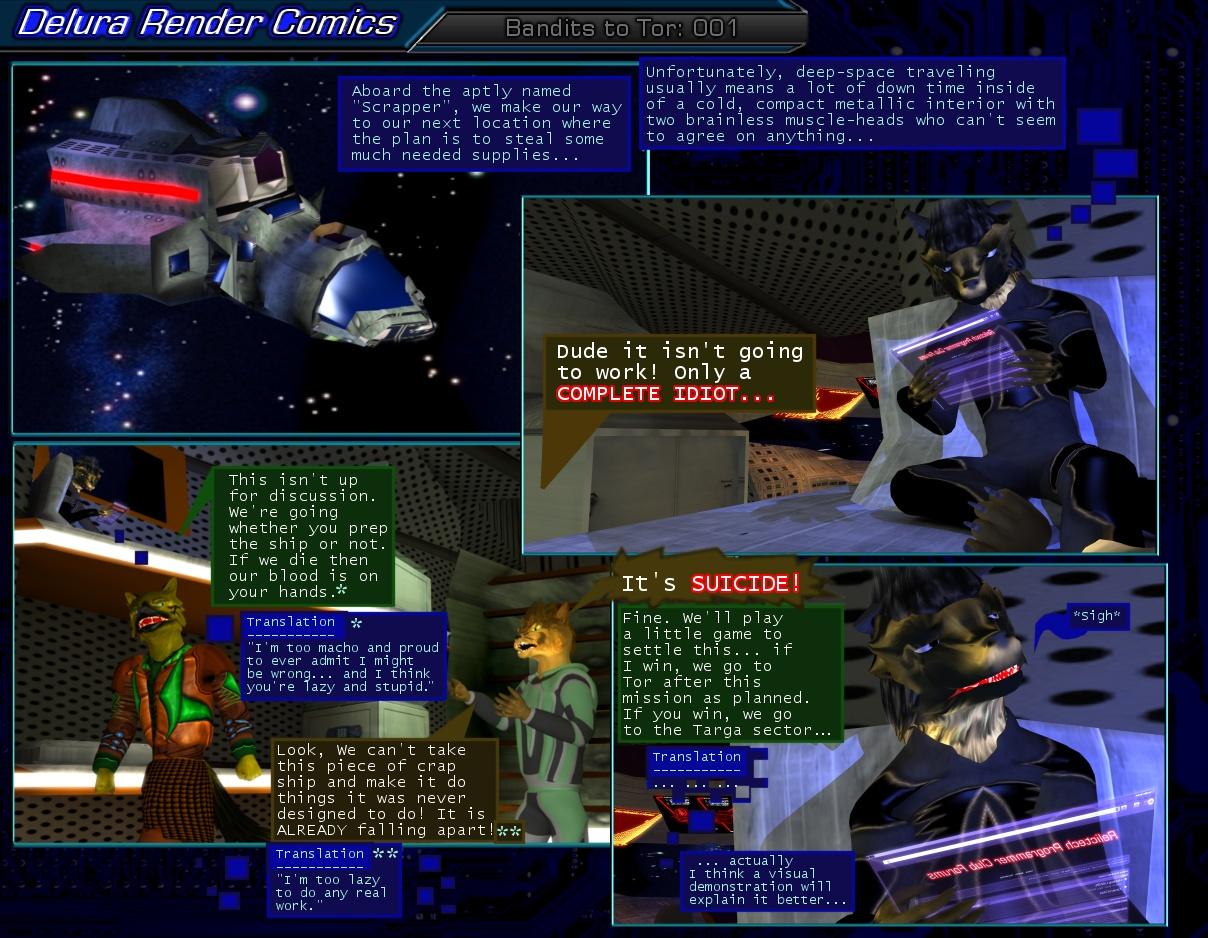 Bandits to Tor: 001