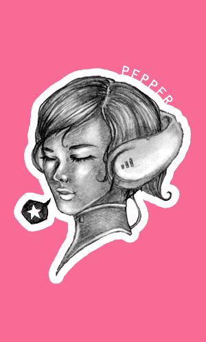 Pepper Fanart