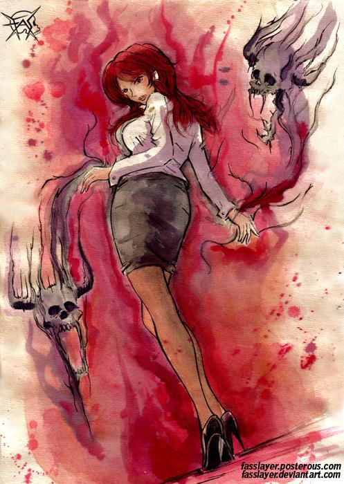 secretary witch