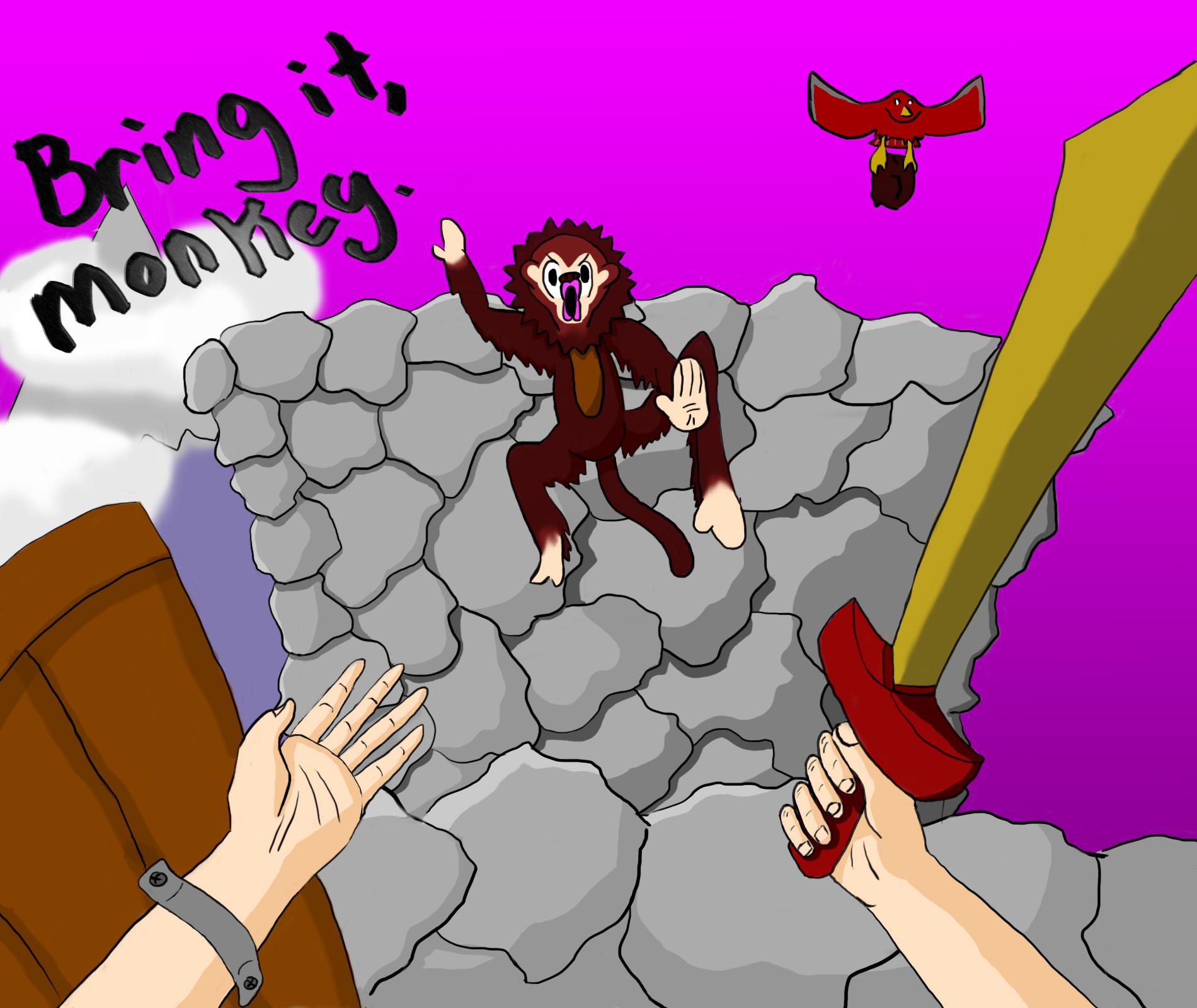 Bring it, Monkey.