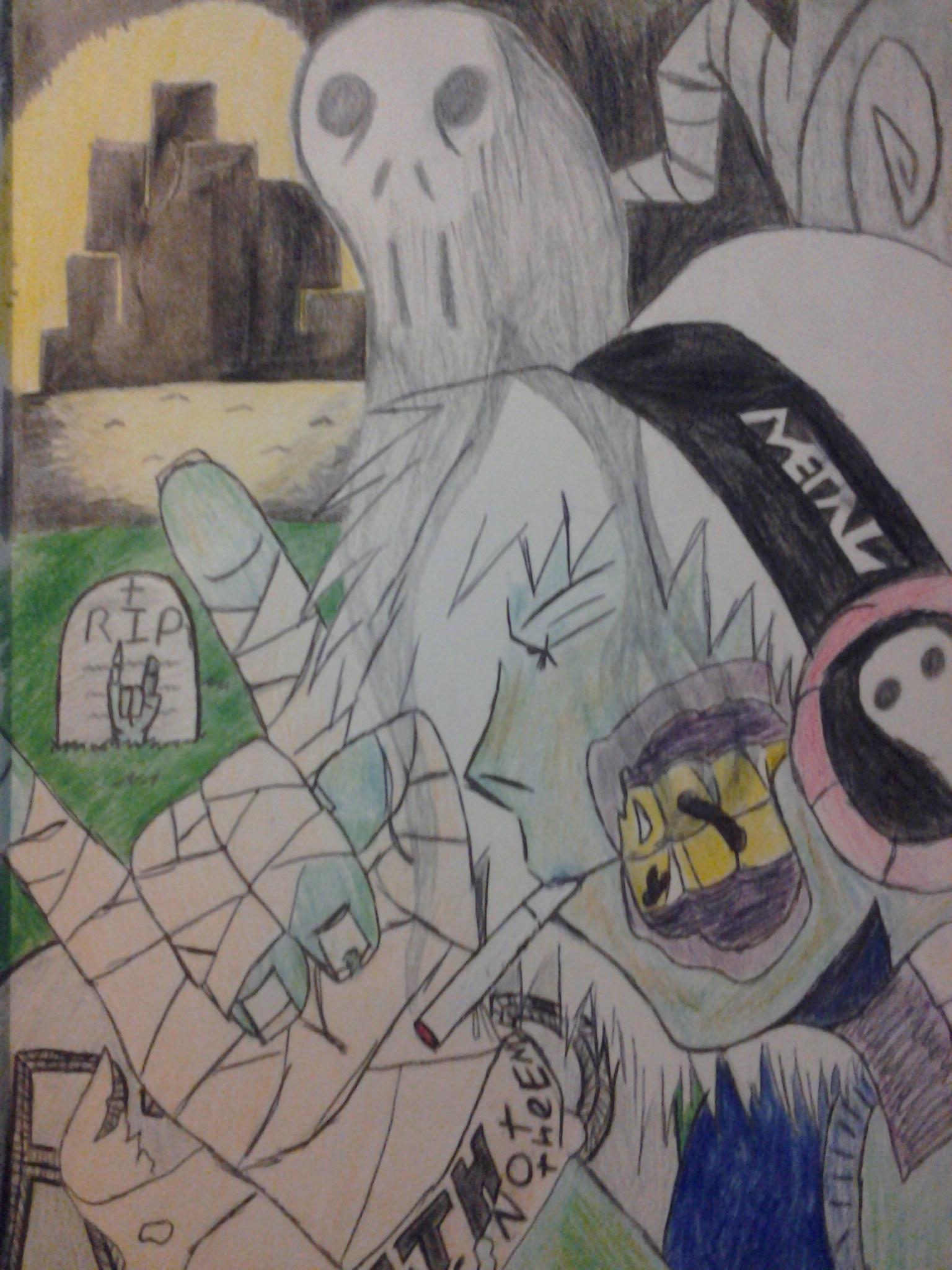 death metal zombie