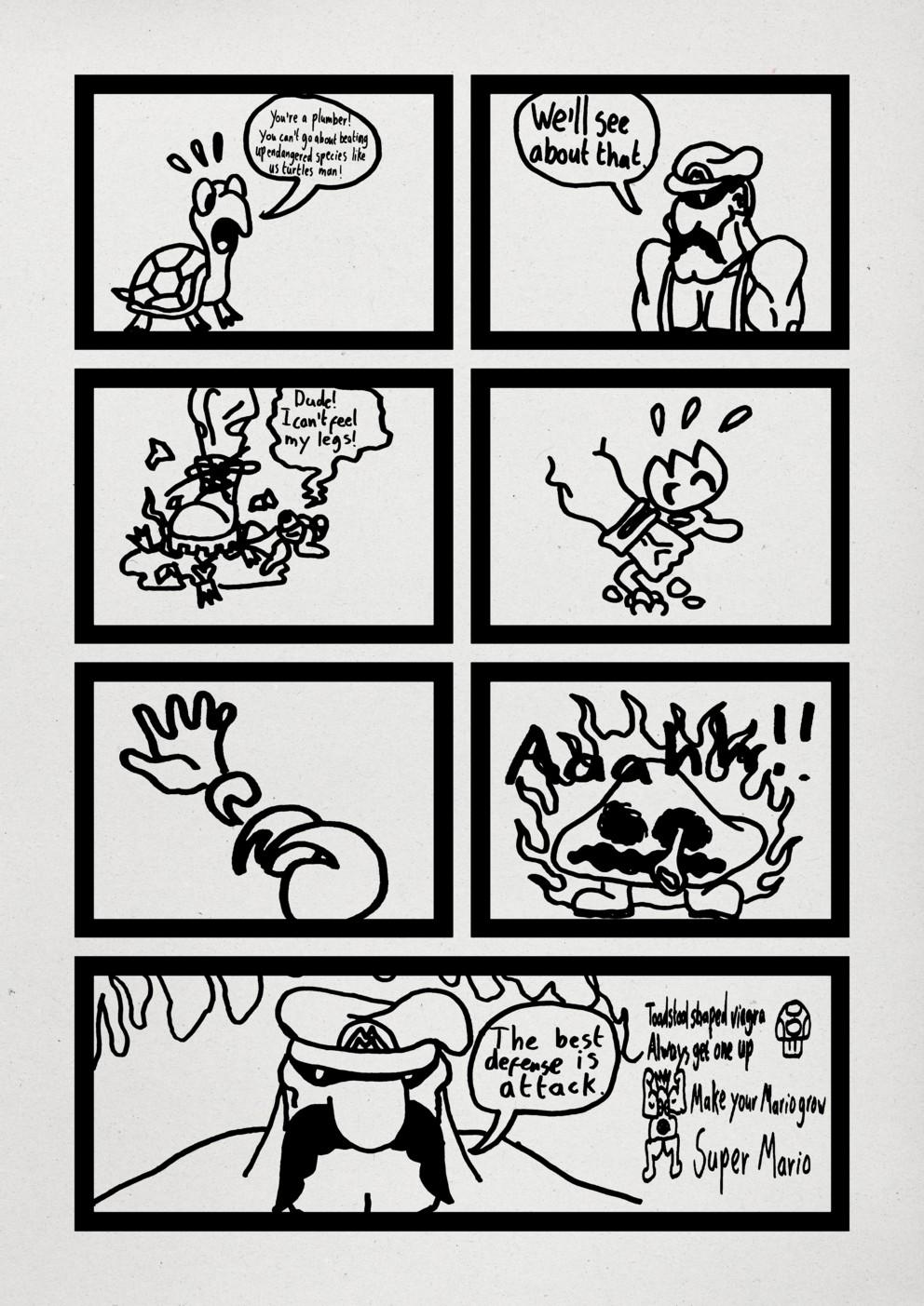 Mario the Italian Stallion pt2