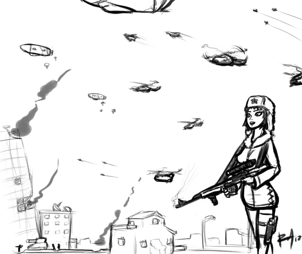 Sketchy war