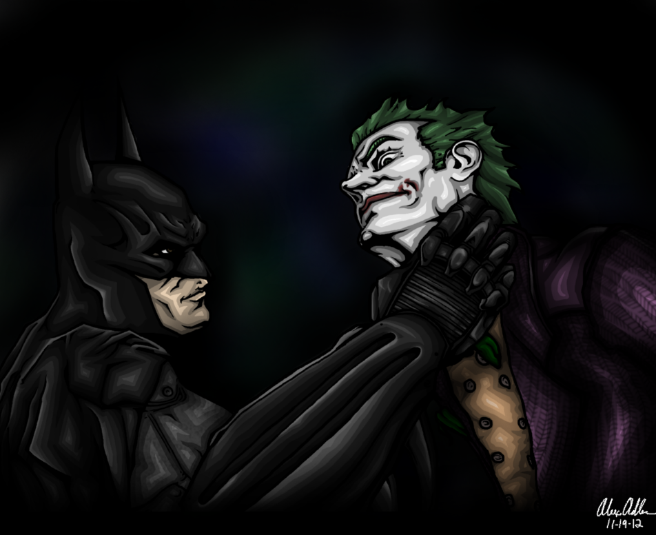 Arkham Asylum - Batman and Jok