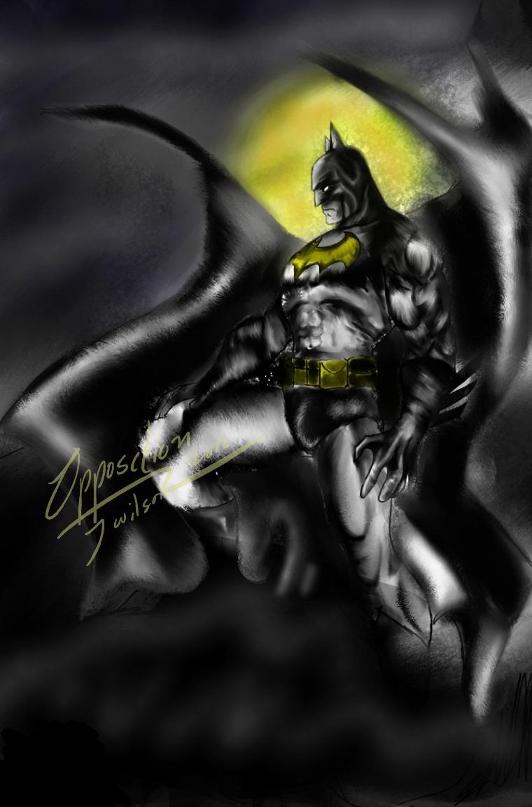 Batman Speed Paint