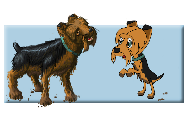 Yorkie in Two Versions