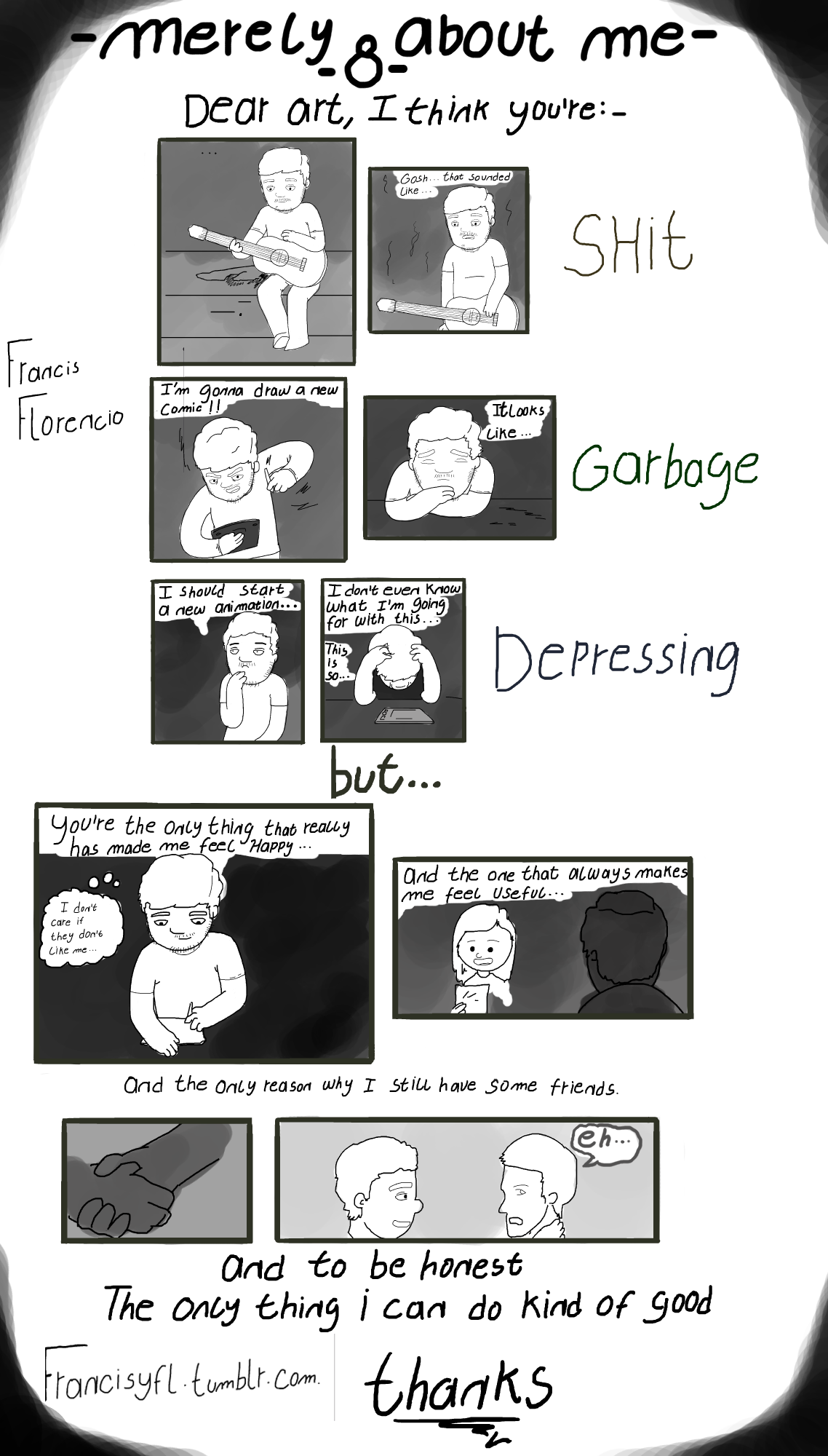 [Comic] Merely about me - 8