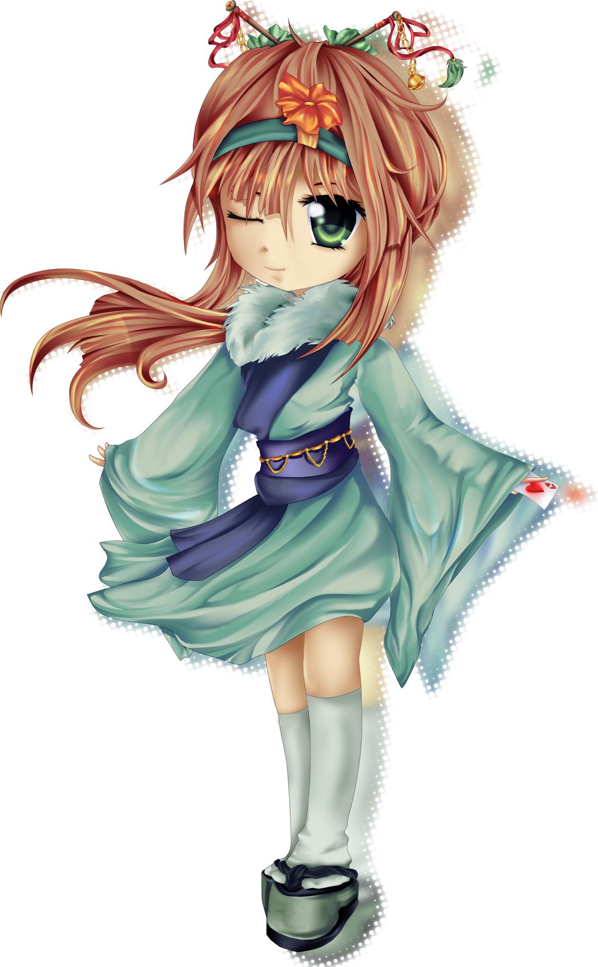 Kimono chibi