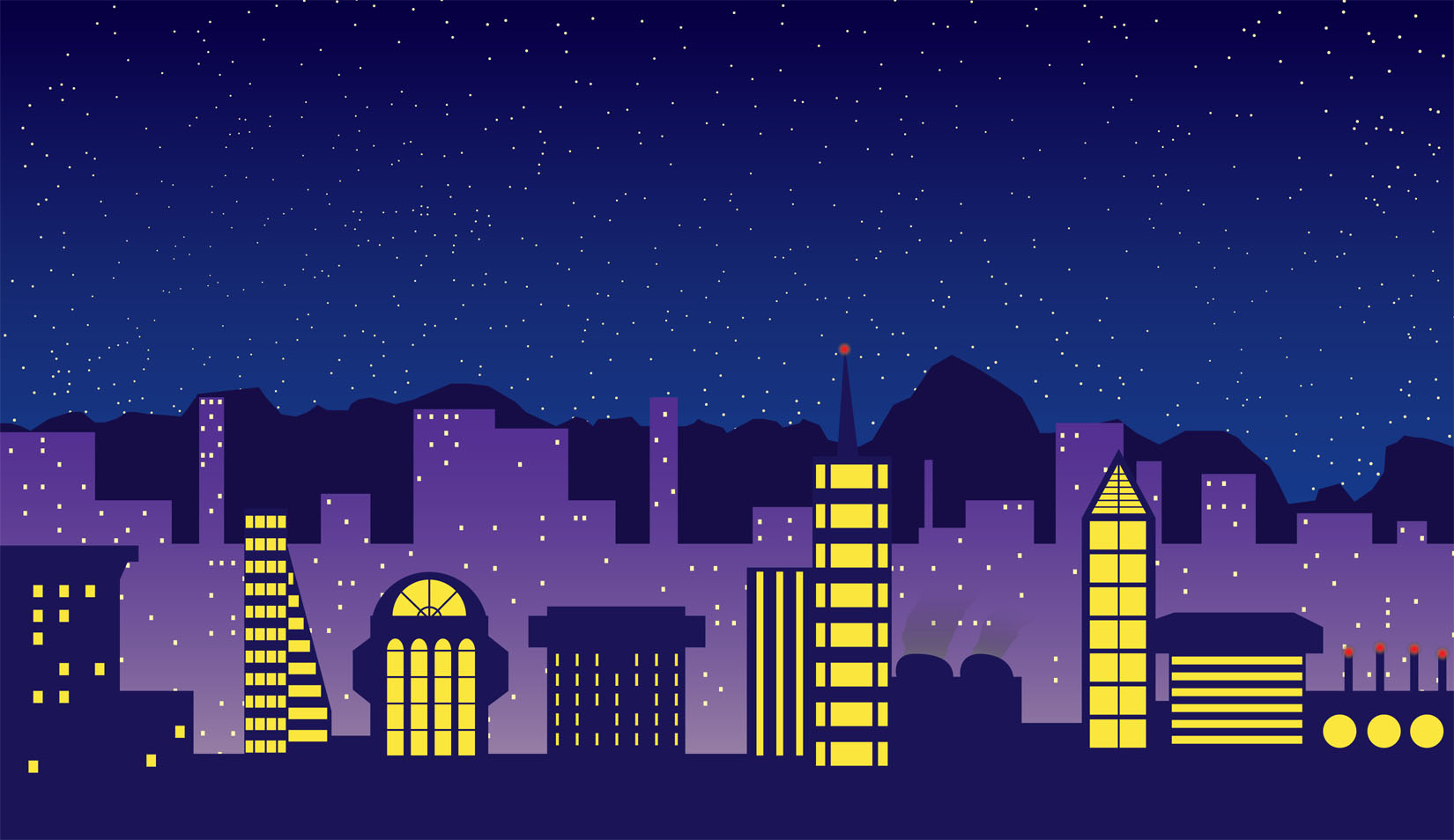 Calendar Illustration Free : City lights by cogmoses on newgrounds