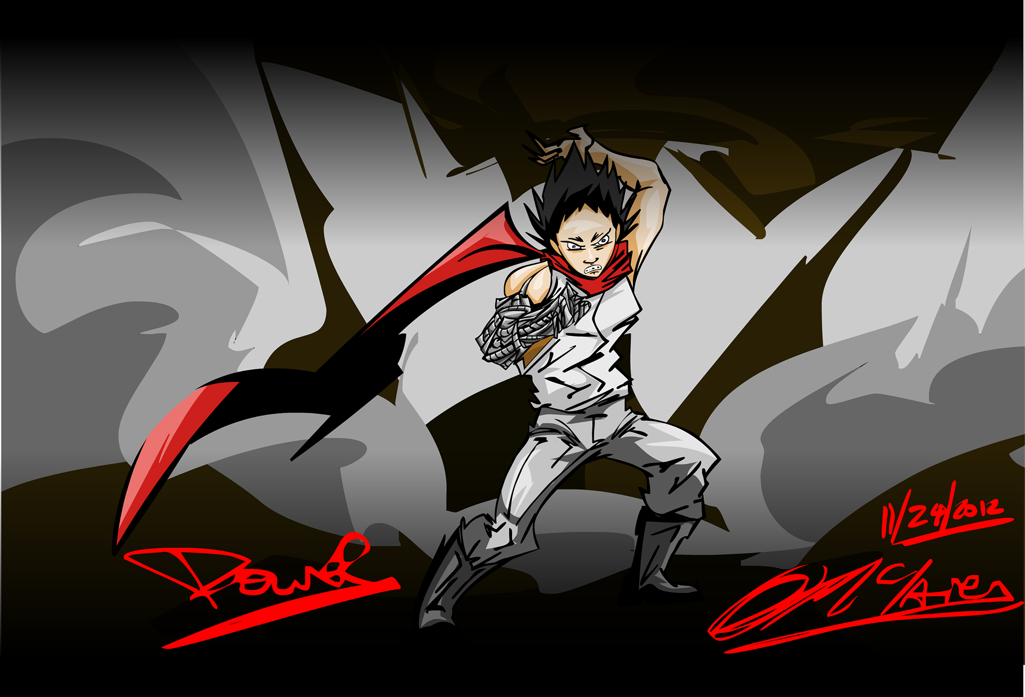 All that Power-TETSUO!!