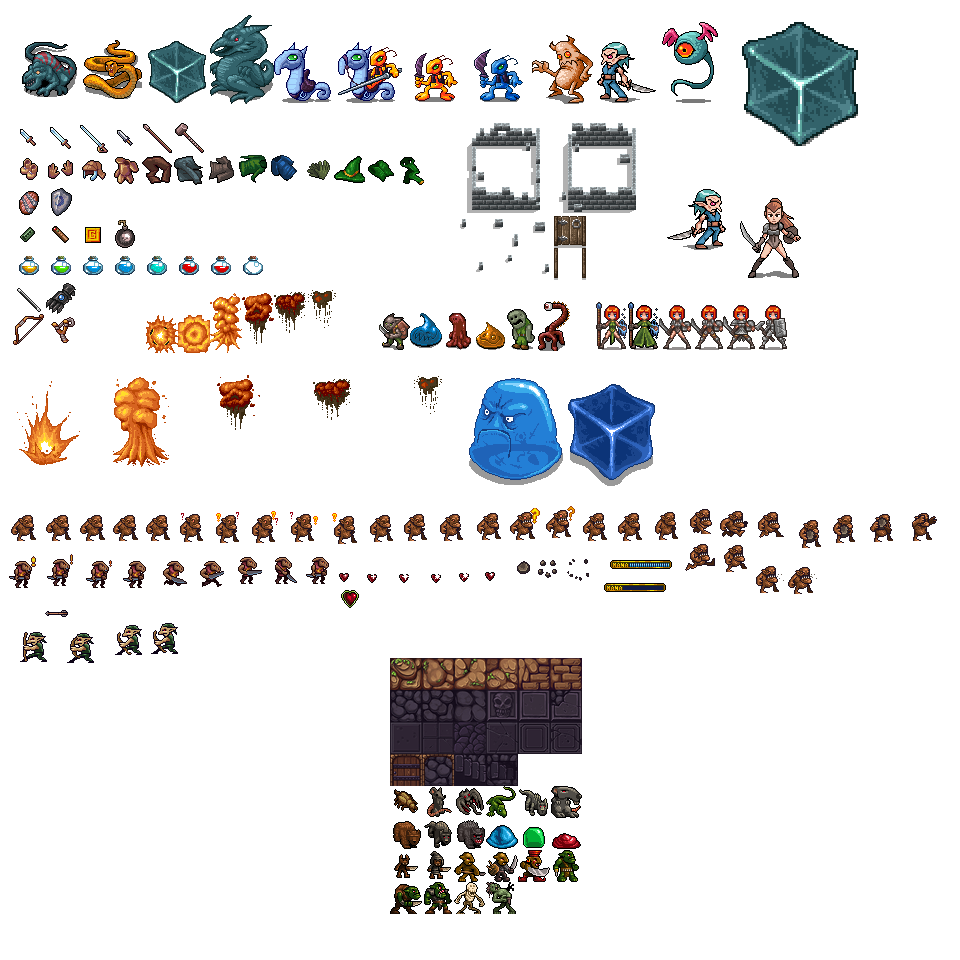 Sprites and Tiles For You!