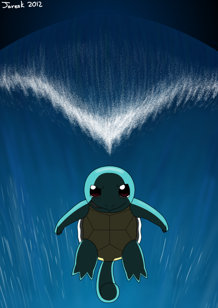 Squirtle Impending Surf